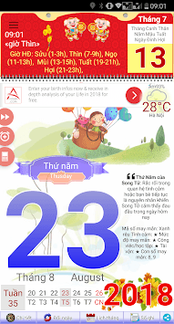 Âm-Dương Lịch APK screenshot 1