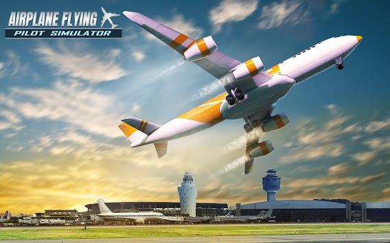 Airplane Flying Pilot Simulator APK screenshot 1