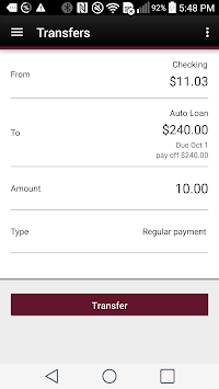 Mechanics Bank Mobile Banking APK screenshot 1