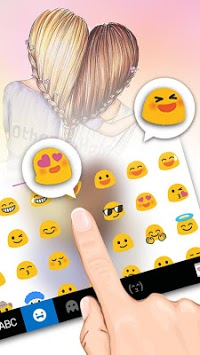 Bff Friends Keyboard Theme APK screenshot 1
