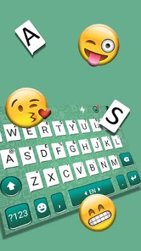 SNS Keyboard - Emoji keyboard、QuickType、Swype fast APK screenshot 1