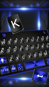 Cool Black Plus Keyboard Theme APK screenshot 1
