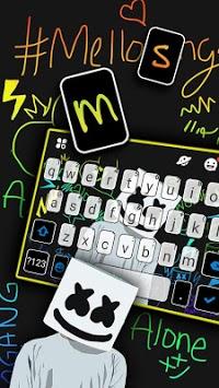 Dj Music Doodle Keyboard Theme APK screenshot 1