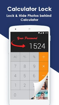 Calculator Gallery Lock - Photo Vault APK screenshot 1