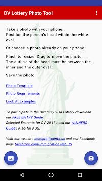 DV Lottery Photo Tool APK screenshot 1