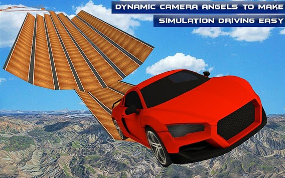 Racing Car Stunts- Mega Ramp Car Driving 2019 APK screenshot 1