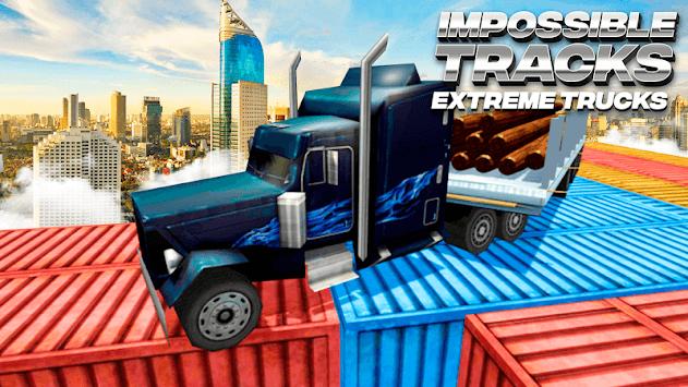 Impossible Tracks on Extreme Trucks APK screenshot 1