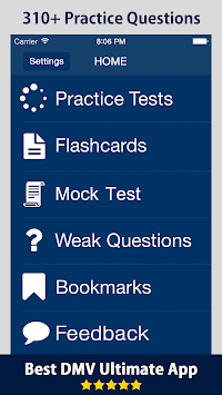 DMV Ultimate Exam Prep 2019 - Permit Practice Test APK screenshot 1