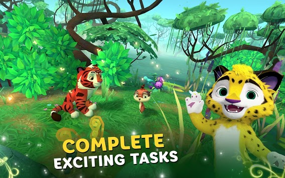 Leo and Tig: Forest Adventures APK screenshot 1