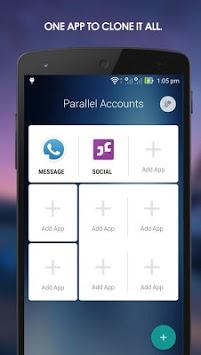 Parallel Accounts APK screenshot 1