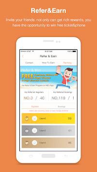HappyEasyGo - Cheap Flight & Hotel Booking App APK screenshot 1