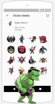 WAStickerApps Stickers APK screenshot 1