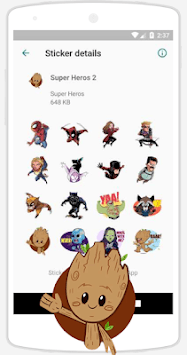 WAStickerApps Stickers APK screenshot 1