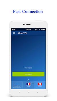 WhatsVPN - Unlimited Free VPN APK screenshot 1
