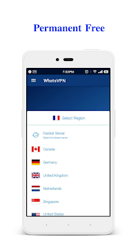WhatsVPN - Unlimited Free VPN APK screenshot 1