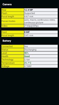 Phone Information APK screenshot 1