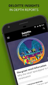 Deloitte Insights APK screenshot 1