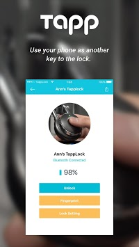Tapplock APK screenshot 1