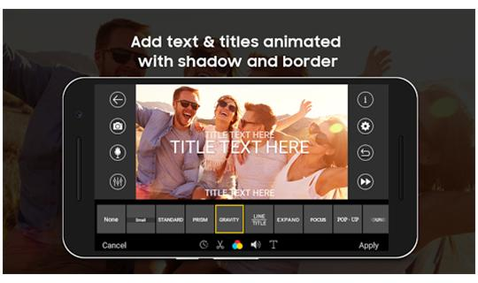 i-movie Video Editor: Hollywood-Style Video Maker APK screenshot 1