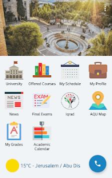 Al-Quds University APK screenshot 1