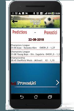 The crazy boy's predictions (soccer predictions) APK screenshot 1
