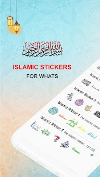 The Islamic Sticker For WhatsApp ملصقات إسلامية APK screenshot 1