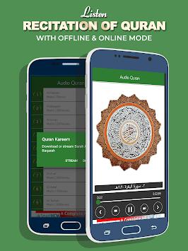 Al Quran MP3 with Translation APK screenshot 1
