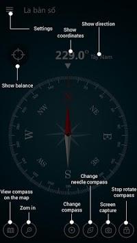 Compass Maps Pro - Digital Compass 360 Free APK screenshot 1