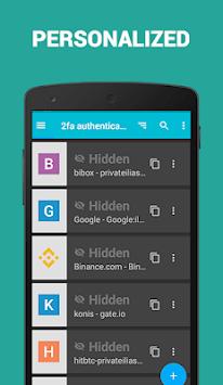 2FA Authenticator app APK screenshot 1