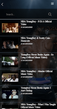 YoungBoy Never Broke Again All Songs APK screenshot 1