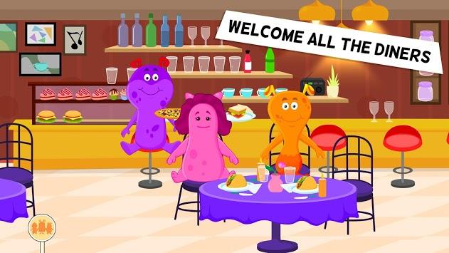 Restaurant Kitchen Cooking Games for Kids - Free APK screenshot 1