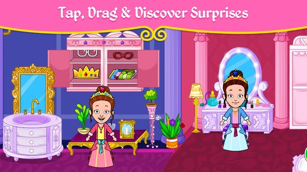 👸 My Princess Town - Doll House Games for Kids 👑 APK screenshot 1