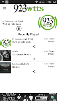 92.3 WTTS APK screenshot 1