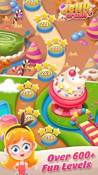 Jelly Crush - Match 3 Games & Free Puzzle 2019 APK screenshot 1
