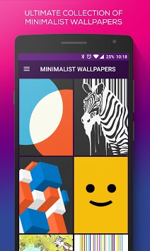 MINIMALIST WALLPAPERS APK screenshot 1