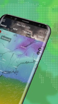 Weather Radar Live & Alerts APK screenshot 1