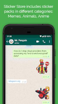 Sticker Store - WAStickerApps APK screenshot 1