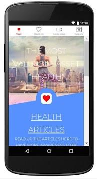 Health Tracker APK screenshot 1