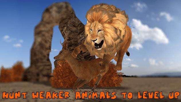 Ultimate Lion Vs Tiger: Wild Jungle Adventure APK screenshot 1