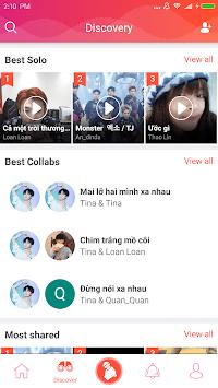Sing Karaoke - Free Sing Karaoke music APK screenshot 1