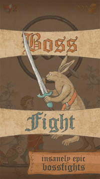 Marginalia Hero — Weird Medieval One Tap RPG APK screenshot 1