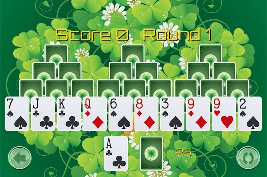 Tri Peaks St Patricks Day APK screenshot 1