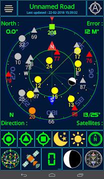 GPS status APK screenshot 1