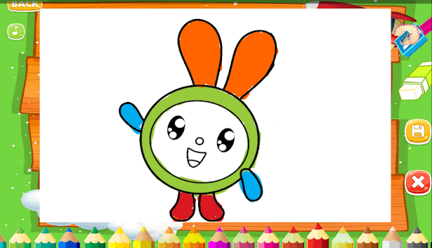 Coloring Pages & Drawing Book Free - Kids Paint APK screenshot 1