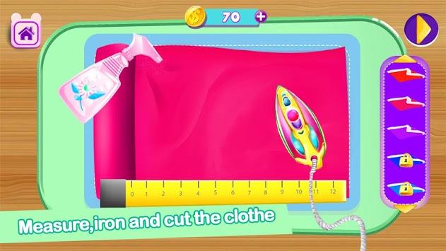 Tailor Stitch: Kids Tailor Dress Up Games APK screenshot 1