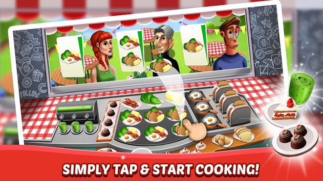 Kitchen Fever - Food Restaurant & Cooking Games APK screenshot 1