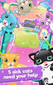 Little Cat Doctor:Pet Vet Game APK screenshot 1