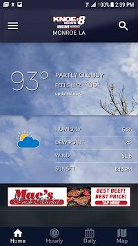 KNOE Weather APK screenshot 1