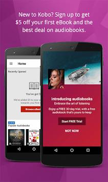 Kobo Books - eBooks & Audiobooks APK screenshot 1