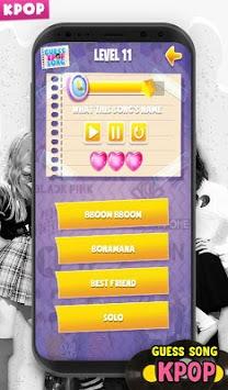 KPOP Guess Korea Idol Quiz Song APK screenshot 1